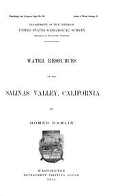 Water-supply and Irrigation Papers of the United States Geological Survey: Issues 89-96