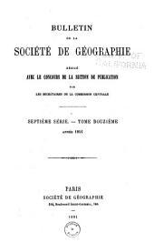 Bulletin de la Société de géographie