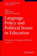 Language Policy and Political Issues in Education PDF