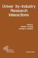 University-Industry Research Interactions
