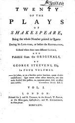Twenty Of The Plays Of Shakespeare A Midsommer Nights Dreame 1600 A Pleasant Comedy Of The Merry Wiues Of Windsor 1619 The Merry Wiues Of Windsor 1630 Much Adoe About Nothing 1600 The Comicall History Of The Merchant Of Venice 1600 Loues Labour S Lost 1631 Book PDF