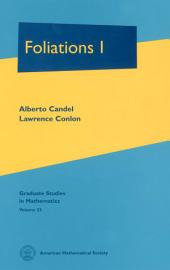 Foliations I: Volume 1