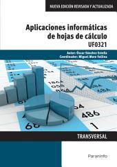UF0321 - Aplicaciones informáticas de hojas de cálculo