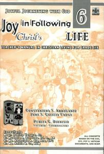 Joyful Journeying with God/joy in Following Christ's Life 6 Teacher's Manual1st Ed 2005 Book