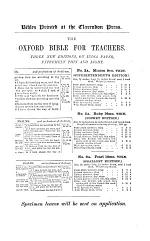 Editions of the Bible and Parts Thereof in English