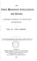 Church missionary intelligencer PDF