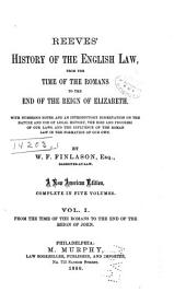 From the time of the Romans to the end of the reign of John