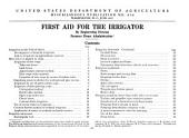 First aid for the irrigator: Issue 624; Issue 646