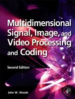 Multidimensional Signal  Image  and Video Processing and Coding PDF