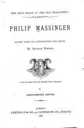 Philip Massinger: Volume 4