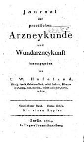 Hufeland's journal der practischen Heilkunde: Band 19