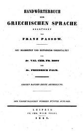 Handwörterbuch der griechischen Sprache: A - _D63