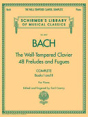 The well tempered clavier PDF