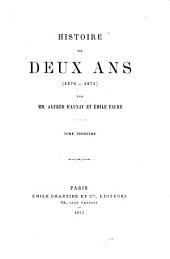 Histoire de deux ans (1870-1871)
