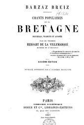 Barzaz Breiz, chants populaires de la Bretagne