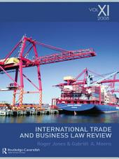 International Trade and Business Law Review:: Volume 11
