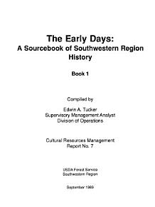 The Early Days PDF