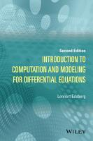 Introduction to Computation and Modeling for Differential Equations PDF