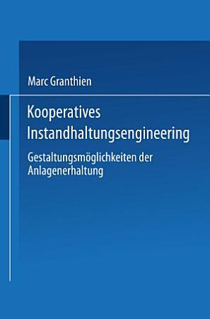 Kooperatives Instandhaltungsengineering PDF