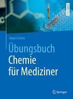 bungsbuch Chemie f  r Mediziner PDF