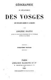 Géographie du département des Vosges