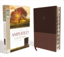 Amplified Study Bible  Imitation Leather  Brown  Indexed