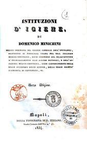 Istituzioni d'Igiene Domenico Minichini