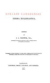 Giraldi Cambrensis Opera: Issue 2