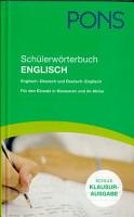 Sch  lerw  rterbuch Englisch PDF