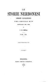 Le storie nerbonesi: romanzo cavalleresco del secolo XIV, Volume 49