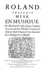 The tragédies lyriques in facsimile: Volume 12
