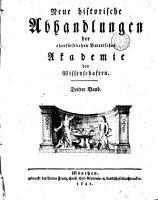 Neue historische Abhandlungen der Churf  rstlichen Baierischen Akademie der Wissenschaften PDF