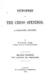 Synopsis of the Chess Openings: A Tabulated Analysis