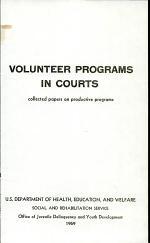 Volunteer Programs in Courts