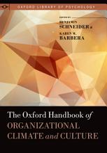 The Oxford Handbook of Organizational Climate and Culture PDF