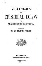 Vida i viajes de Cristóbal Colón: Volumen 1