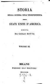 Storia della guerra dell'independenza degli Stati Uniti d'America: Volume 1;Volume 4