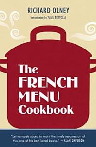 The French Menu Cookbook Book