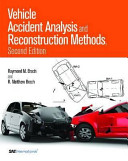 Vehicle Accident Analysis and Reconstruction Methods PDF
