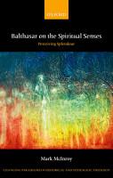 Balthasar on the  Spiritual Senses  PDF