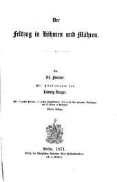 Der deutsche Krieg von 1866: bd. Der feldzug in Böhmen und Mähren