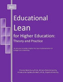 Educational Lean for Higher Education PDF
