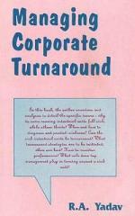 Managing Corporate Turnaround