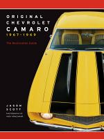 Original Chevrolet Camaro 1967 1969 PDF