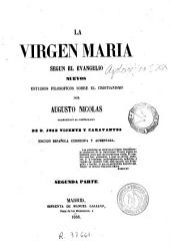 La Virgen Maria segun el Evangelio: nuevos estudios filosoficos sobre el cristianismo