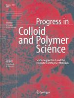 Scattering Methods and the Properties of Polymer Materials PDF