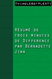 Résumé de 3 minutes du livre Difference de Bernadette Jiwa