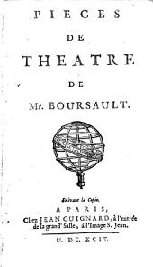Piéces de théatre de Mr. Boursault