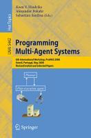Programming Multi Agent Systems PDF