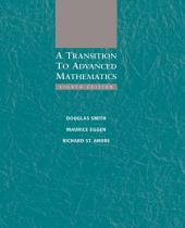 A Transition to Advanced Mathematics: Edition 8